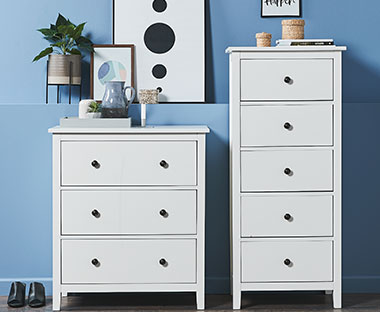 NORDBY chest of drawers