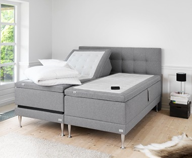 Ny ställbar säng? Här hittar du ett stort urval av ställbara
